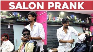 latest Salon funny prank #tamada #funny #prank
