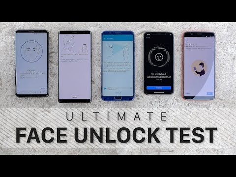 The Ultimate Face Unlock Test!