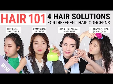2 Items 4 Hair Solutions | Damaged Hair, Greasy Hair, Itchy Scalp & Hair Loss Cure | Wishtrend