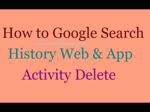 How to Clear Google Search History on Android