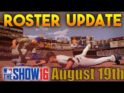 MLB The Show 16 - Roster Update and New Flashbacks August 19th