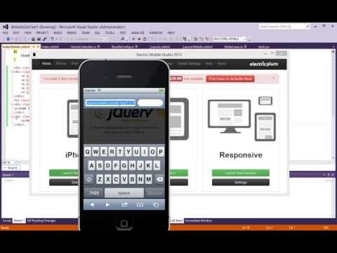 ASP.NET MVC 4 - How to Create Mobile and Desktop Versions of a Website - Part 1