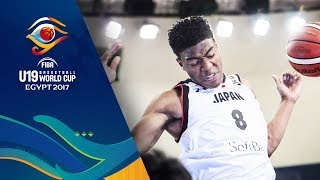 Rui Hachimura's VERY BEST plays from the FIBA U19 Basketball World Cup