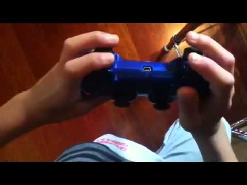 How to hold a ps3 remote the right way!