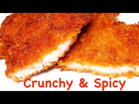 Crunchy Spicy Breaded Chicken