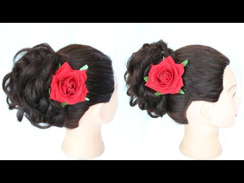 how to do a messy bun | messy bun | indian wedding hairstyles | easy hairstyles | summer hairstyles