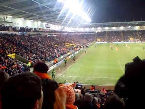 Blackpool Fans Chanting, vs Liverpool