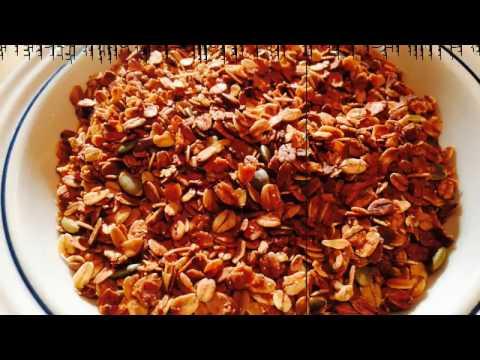 Vegan Breakfast How to make Healthy Easy Quick Granola Cereal