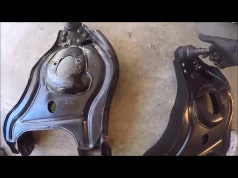 Lower Control Arm replacement on a 2WD Ram 2500 (complete)