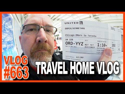 Leaving Orlando Florida, Goodbye to My Camaro, WheezyWaiter, Chicago O'Hare, Home - Ken's Vlog #663