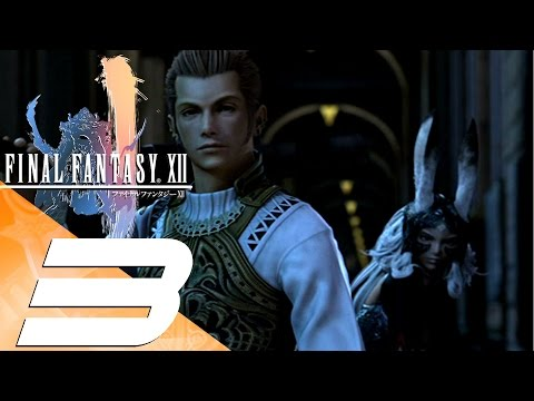 Final Fantasy XII HD - Walkthrough Part 3 - The Palace Treasure [1080p 60fps]