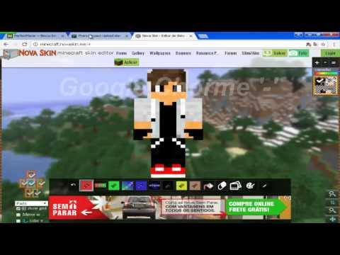 Minecraft : TROCANDO SKINS NO TECHNIC LAUNCHER #3 ( TUTORIAL 2016 )