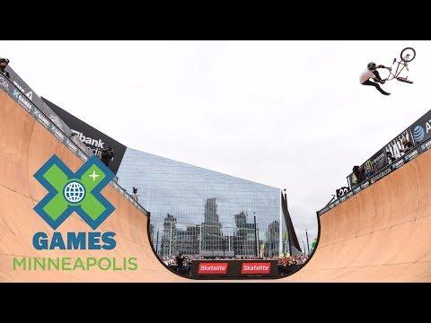 Jamie Bestwick wins BMX Vert silver | X Games Minneapolis 2017
