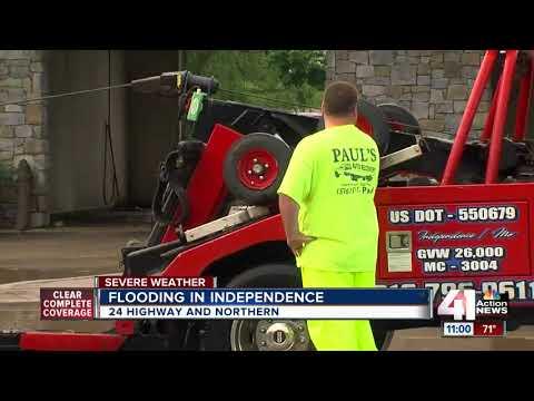 Sugar Creek floods — again