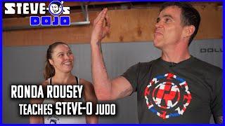 Ronda Rousey Teaches Steve-O Judo | Ronda's Dojo