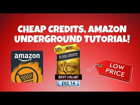 CHEAP CREDITS, AMAZON UNDERGROUND TUTORIAL!