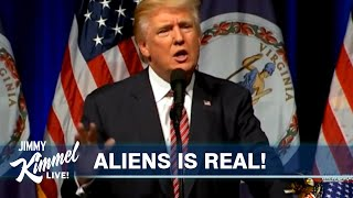 Trump Knows About Aliens and Hasn't Said Anything?!