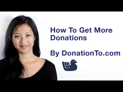 How to get more donations - parts 1-3 to amplify donations