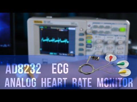 AD8232 Analogl Heart Rate Sensor/Single Lead ECG Sensor For Arduino
