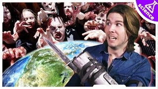 How Fast Will ZOMBIES Take Over The World? (Because Science w/ Kyle Hill)