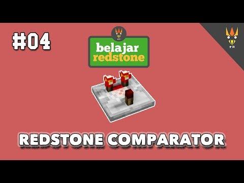 Belajar Redstone #4 : MENGHITUNG SINYAL COMPARATOR (PAKE RUMUS BIAR GREGET)