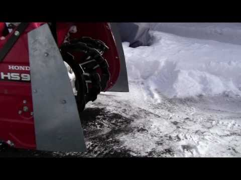 Honda Snow Blower Modification How To Video