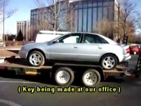 Locksmith in Atlanta GA: 1999 Audi A4 - Lost Key Replacement Made!