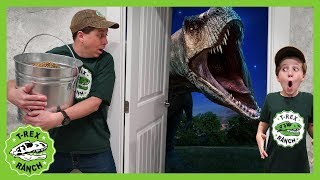 Download Dinosaur Escape Room! Giant T-Rex Dinosaurs Adventure For Kids & Mystery Toys Video