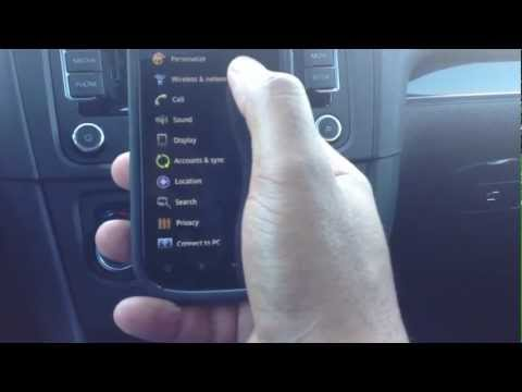 How to pair a Android phone to a new Volkswagen via Bluetooth