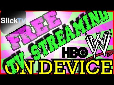 FREE TV STREAMING FOR iOS 10 [IPHONE, iPad,iPod]!! FREE MOVIES, SPORTS, WRESTLING, PLUS MORE