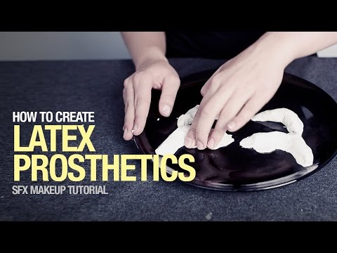 The latex prosthetics sfx tutorial