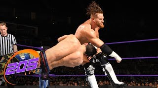 Kalisto vs. Akira Tozawa vs. Buddy Murphy vs. TJP: WWE 205 Live, March 27, 2018