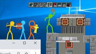 Build Battle - Animation vs. Minecraft Shorts Ep. 17