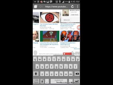 How to edit your youtube channel on a mobile phone
