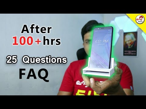 Asus Zenfone Max Pro  -  FAQ after 100+hrs  | Tamil Tech
