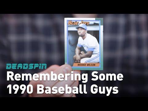 Remembering Some Guys: 1990 Baseball