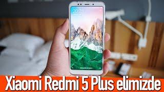 Xiaomi Redmi 5 Plus elimizde: Tüm detaylar