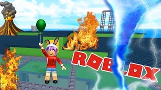 Download NATURAL DISASTER SURVIVAL IN ROBLOX | RADIOJH GAMES Video