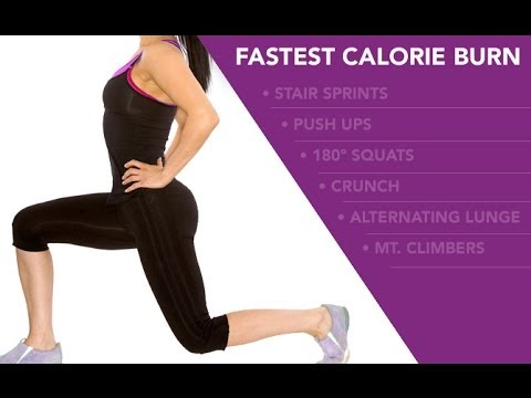 Fastest CALORIE BURNING Workout (At Home Calorie Burner!!)