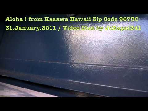 Sending Postcards from Kaaawa Hawaii Zip Code 96730