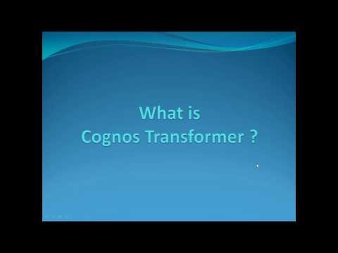 Cognos Transformer | Cognos Online Training | IBM Cognos Analytics