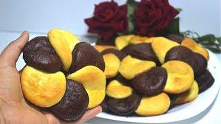بريوش الوردة راااائع 😋 بمقادير مضبوطة بدون طابع أهش من القطن روعة