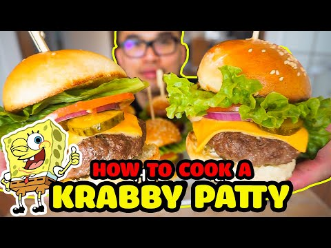How to cook a KRABBY PATTY