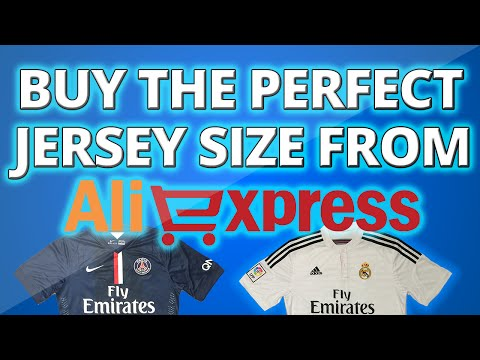 How To Choose The Perfect Jersey Size Online *2015/2016*