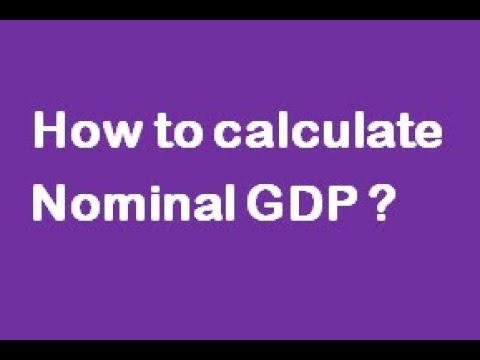 How to calculate Nominal GDP ?(CAIIB-ABM)