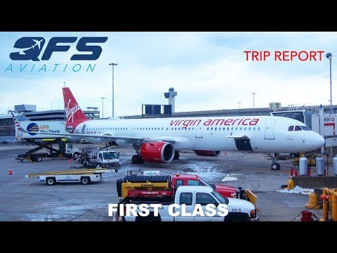TRIP REPORT   Virgin America - A321neo - New York (JFK) to Los Angeles (LAX)   First Class