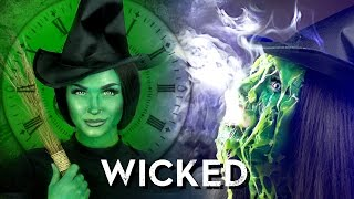 Melted (Wicked) Witch of the West Makeup Tutorial