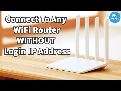 How To Connect To Any WiFi Router Page Without Login IP Address On Android - NO ROOT