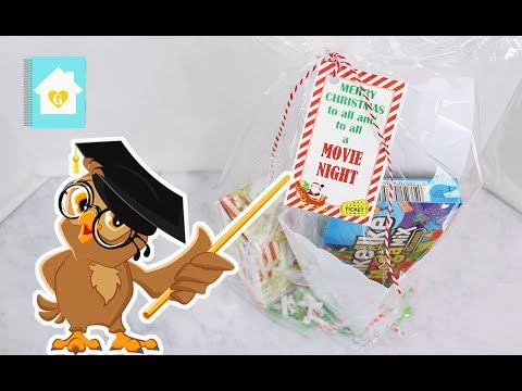 CHRISTMAS GIFT IDEA ON A BUDGET | MOVIE NIGHT BASKET | GIFTING