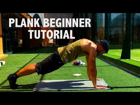 How to Do a Perfect PLANK - Beginner Tutorial